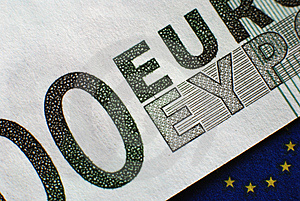 Euro Banknote Stock Photo - Image: 4916830