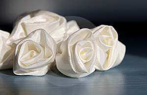 Wedding Accessories Addition Roses From Fabric Royalty Free Stock Images - Image: 4918499