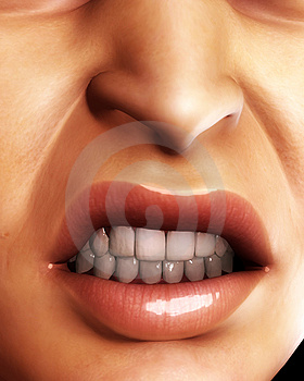 Angry Mouth 2 Stock Images - Image: 4921394