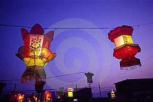 Lanterns Royalty Free Stock Photography - Image: 4921427