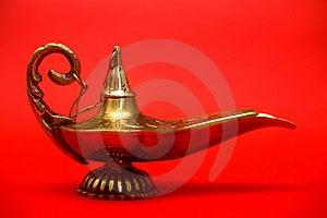 Magic Genie Lamp Free Stock Images