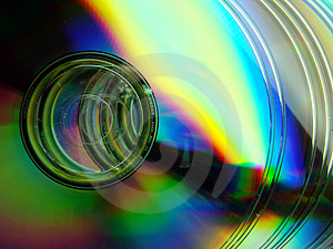 Shining CD's Stock Photo - Image: 4924890