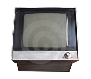 Fuzzy tv Royalty Free Stock Photo