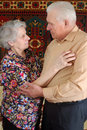 Dancing senior couple Royalty Free Stock Image