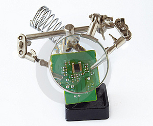 Stand For Soldering Iron Stock Photography - Image: 4934252