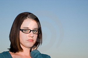 Sad Girl Stock Images - Image: 4935564