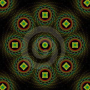 Quilted Treasure Mandala Stock Image - Image: 4941931