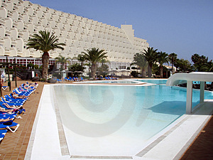 Pool In The SPA Resort Stock Photo - Image: 4942610