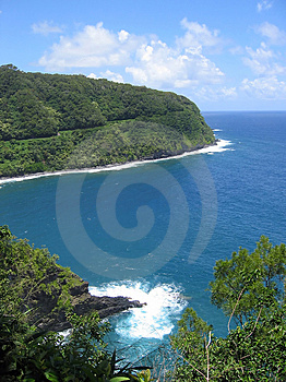 The Tropical North Coast Of Maui Royalty Free Stock Photography - Image: 4944287