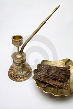 Tobacco Pipe Royalty Free Stock Image - Image: 4944646