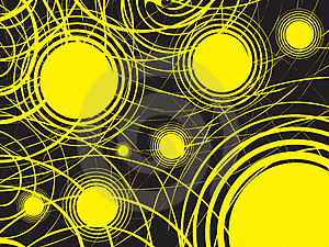 Abstract Background With Circles Stock Photo - Image: 4947130