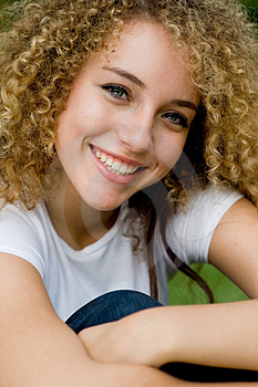 Pretty Girl Outside Royalty Free Stock Image - Image: 4957696