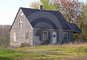 House In Disrepair Royalty Free Stock Image - Image: 4959176