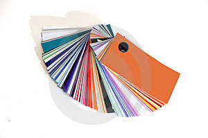 Color Pallet Royalty Free Stock Images - Image: 4961029