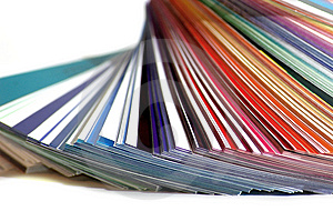 Color Pallet Royalty Free Stock Photo - Image: 4961035