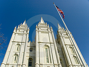 A Building At Temple Square Salt Lake City Utah Stock Photography - Image: 4967802