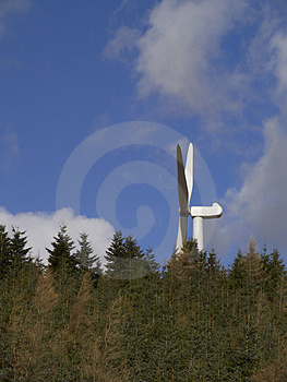 Wind Turbine Royalty Free Stock Images - Image: 4968329