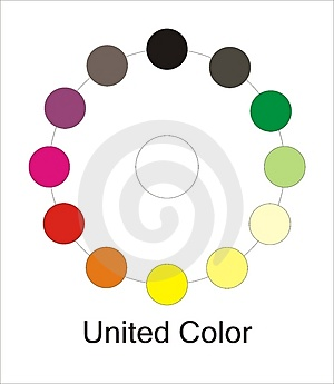 Color Guide Stock Images - Image: 4969674