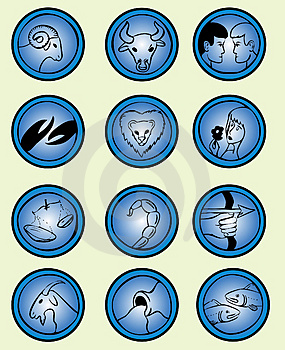 Zodiac Signs - Vector Royalty Free Stock Image - Image: 4971616