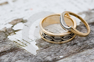 Wedding Rings Stock Photos - Image: 4973323