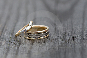 Wedding Rings Royalty Free Stock Photos - Image: 4973358