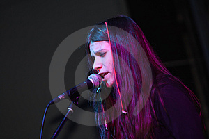 Singing Girl Stock Photography - Image: 4980072