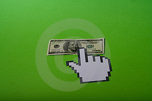 Online Money Royalty Free Stock Images - Image: 4982169