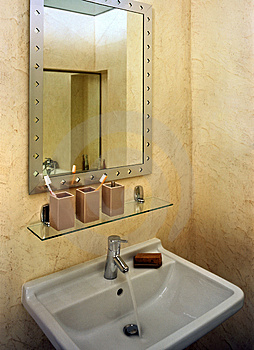 Bathroom Royalty Free Stock Image - Image: 4988186