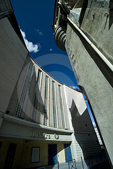Theatre Perspective Stock Photography - Image: 4989012