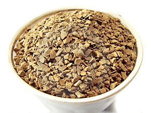 Instant Coffee Granules Closeup Stock Photos - Image: 4998503