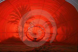 Hot Air Ballon Launch Free Stock Images
