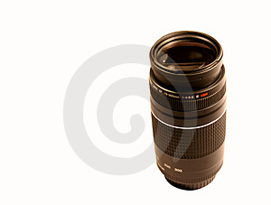 Lens Isolated Stock Photography