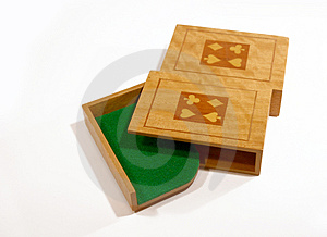 Poker Box 4 Stock Images
