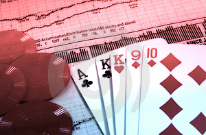 Business Gamble Free Stock Images
