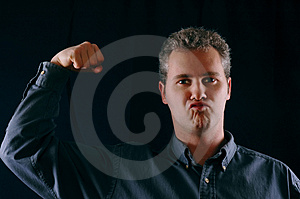 Tough guy Royalty Free Stock Photography
