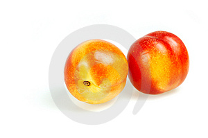 Nectrines Stock Photos