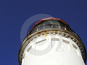 Lighthouse Perspective Stock Photography