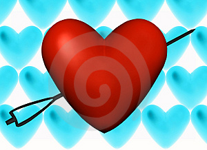 Red Love Royalty Free Stock Photos