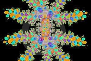 Liquid Flower Free Stock Image