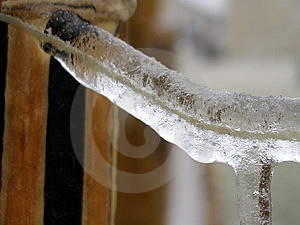 Frozen String Royalty Free Stock Image