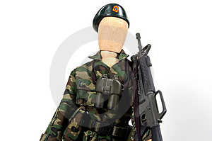 Soldier 2 Free Stock Image