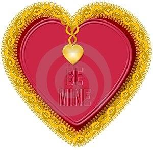 Walentynki serce 5 Obrazy Stock