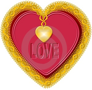 Valentine Heart 1 Stock Image