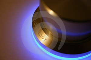 Glowing Dial Stock Photo