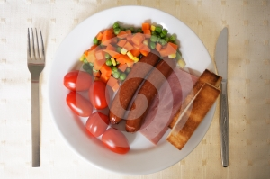 Healthy Delicious Breakfast Royalty Free Stock Photography - Image: 506517