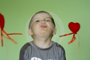 Fun With Hearts Royalty Free Stock Photos - Image: 506758