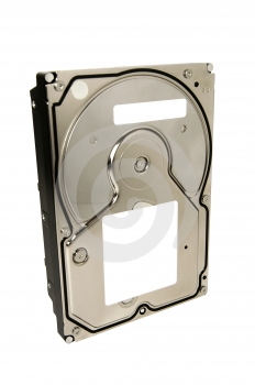 Generic Hard Disk Drive With Clipping Path Royalty Free Stock Image - Image: 509036