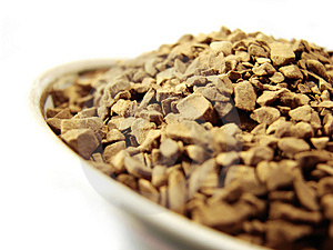Instant Coffee Granules Closeup 4 Stock Photography - Image: 5001162