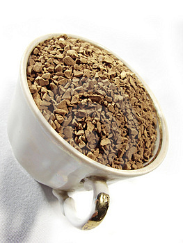 Instant Coffee Granules Closeup 3 Stock Images - Image: 5001164