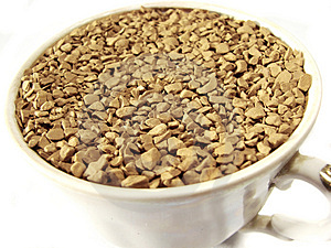 Instant Coffee Granules Closeup 2 Stock Photography - Image: 5001172